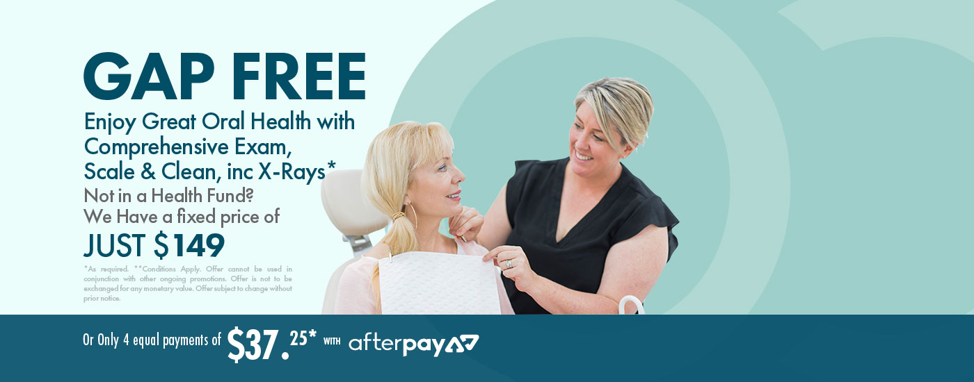Easy payment plan for gap free dental treatment